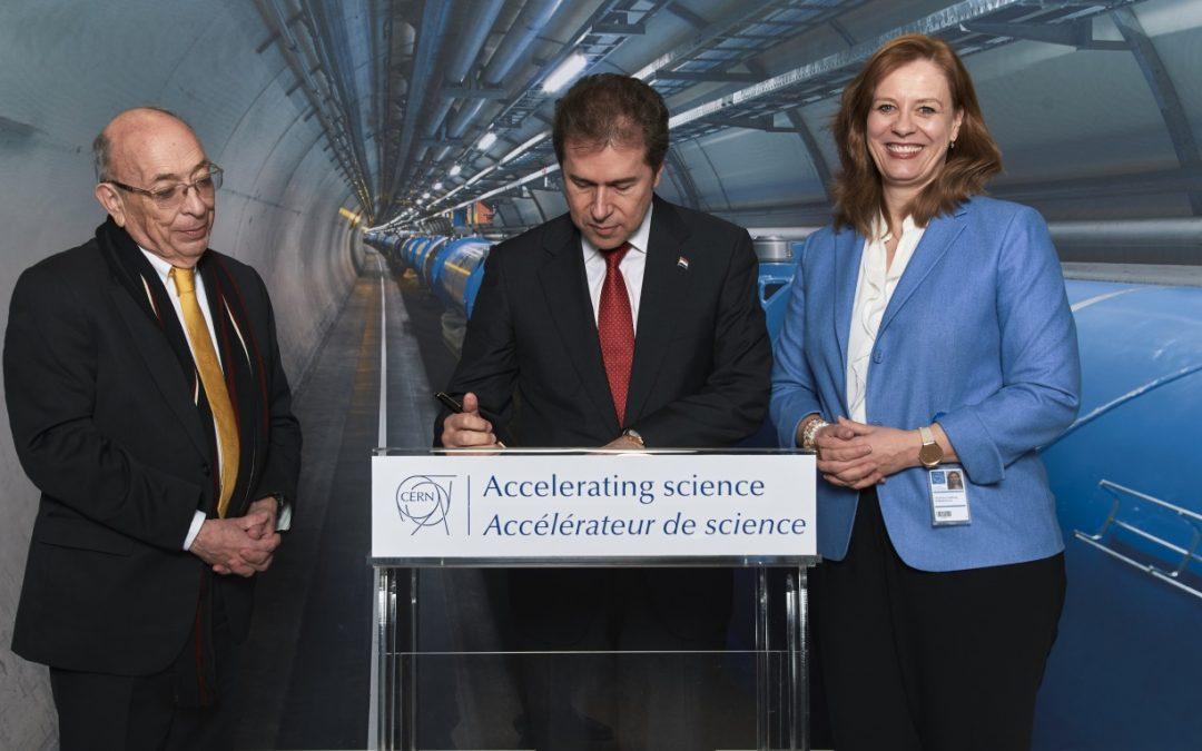 Científicos y Técnicos Paraguayos incursionarán en el Centro Nuclear Europeo.