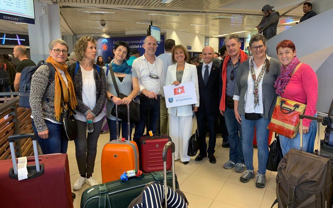 Asunción, 8 de abril 2019 Delegación cultural de Acquarossa, Suiza, encabezada por el Intendente de Acquarossa, el Sr. Odis Barbara De Leoni, y la Embajadora del Paraguay ante la Confederación Suiza.