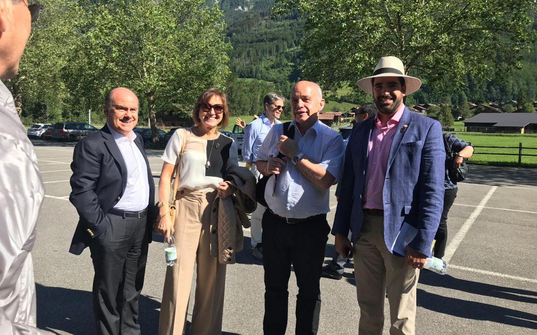 Excursión al Museo Ballenberg en honor al Cuerpo Diplomático organizado por el Consejo Federal que contó con la presencia del Sr. Ueli Maurer Presidente de la Confederación Suiza y el Sr. Ignazio Cassis Canciller y Jefe del Ministerio de Relaciones Exteriores.