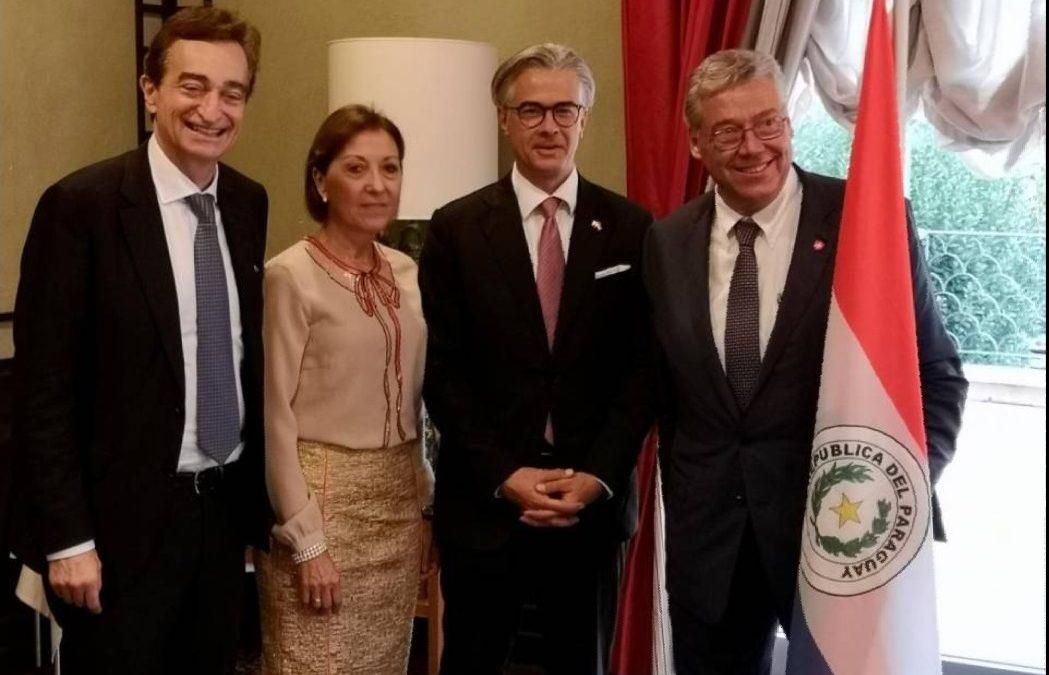 Inauguración del Consulado Honorario en Lugano-Tessin