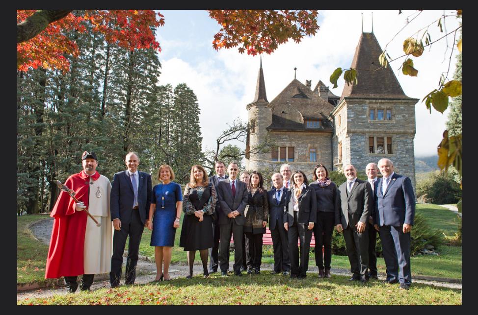 Reunión con el Vicepresidente del Cantón de Valais y autoridades Cantonales.