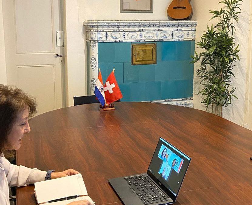 Videoconferencia con el alcalde de Berna